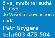 Petr Gr�gera - krmiva pro Va�e ryby!